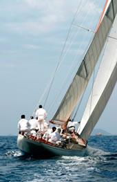 Le bateau en Corse